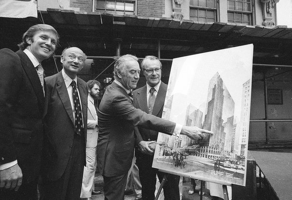 Hotel that launched Trump to Manhattan fame to be torn down