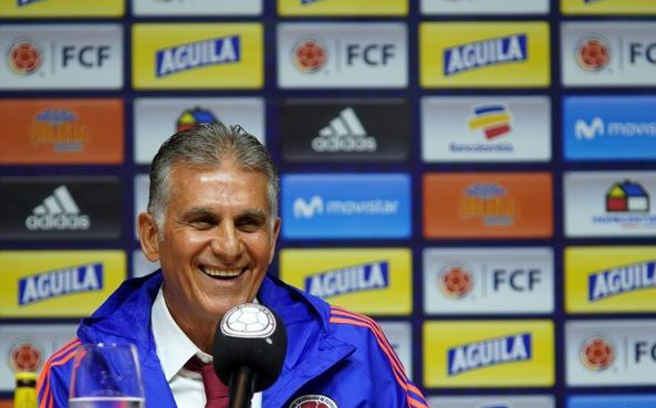 Colombia appoint Carlos Queiroz as national coach