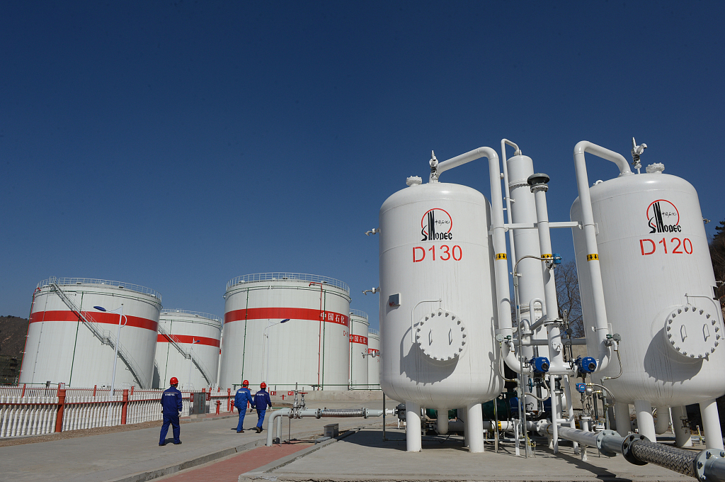 China reports faster profit growth in oil, petrochemical industry
