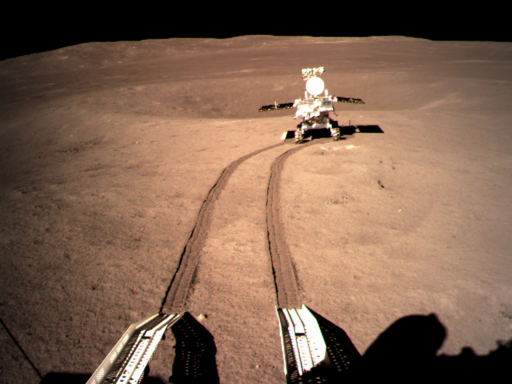NASA's lunar orbiter has its second, clearer look on China's Chang'e-4 probe