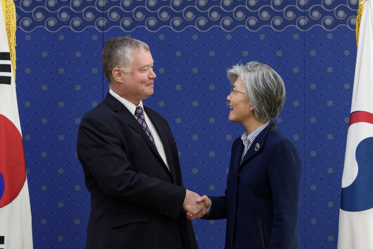 US envoy says productive in talks with DPRK