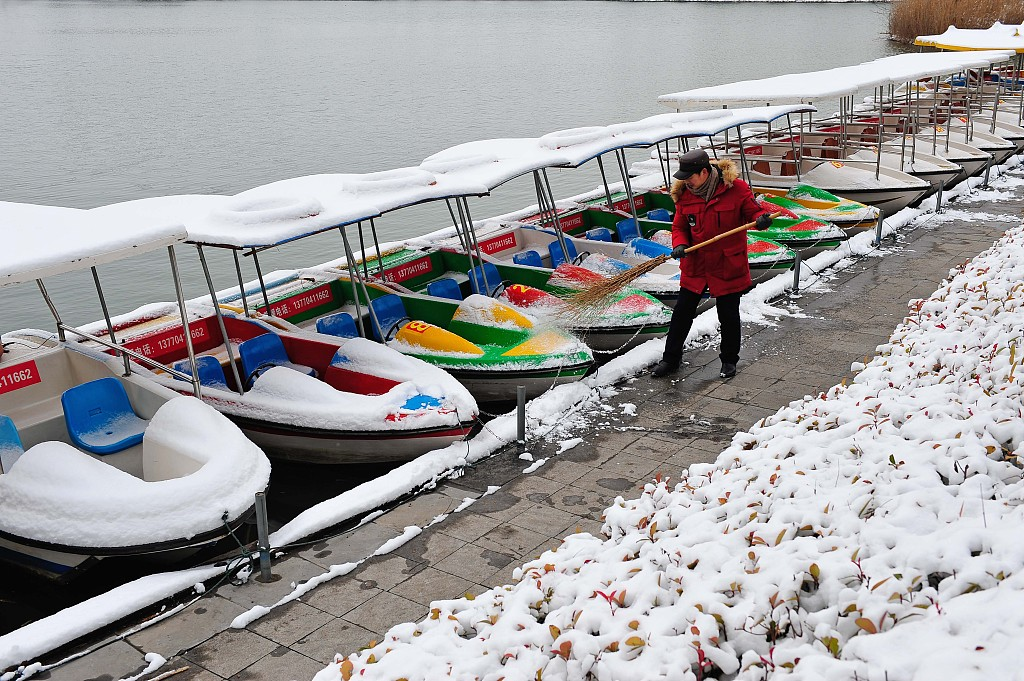 Snow to sweep central, northern China