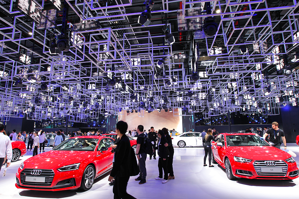 Audi sets new monthly sales record in China