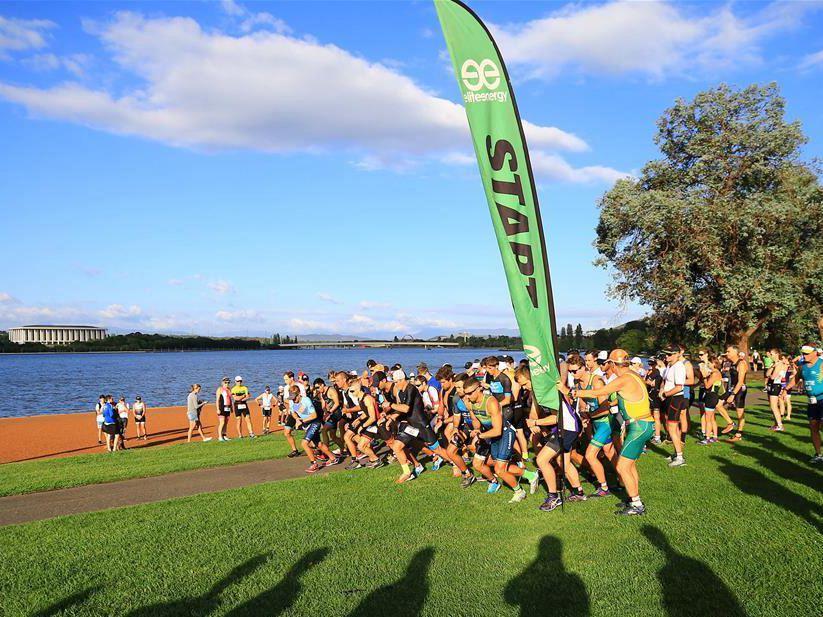 Canberra Triathlon Festival held in Australia