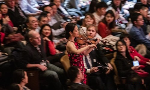 New York Philharmonic marks Lunar New Year with US premiere of Tan Dun's violin concerto