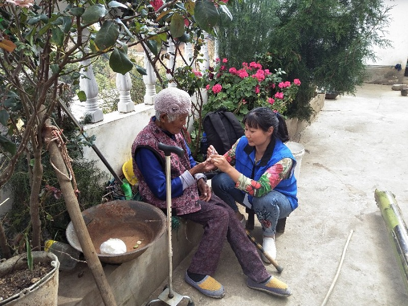 Home-based elderly care deepens in rural China