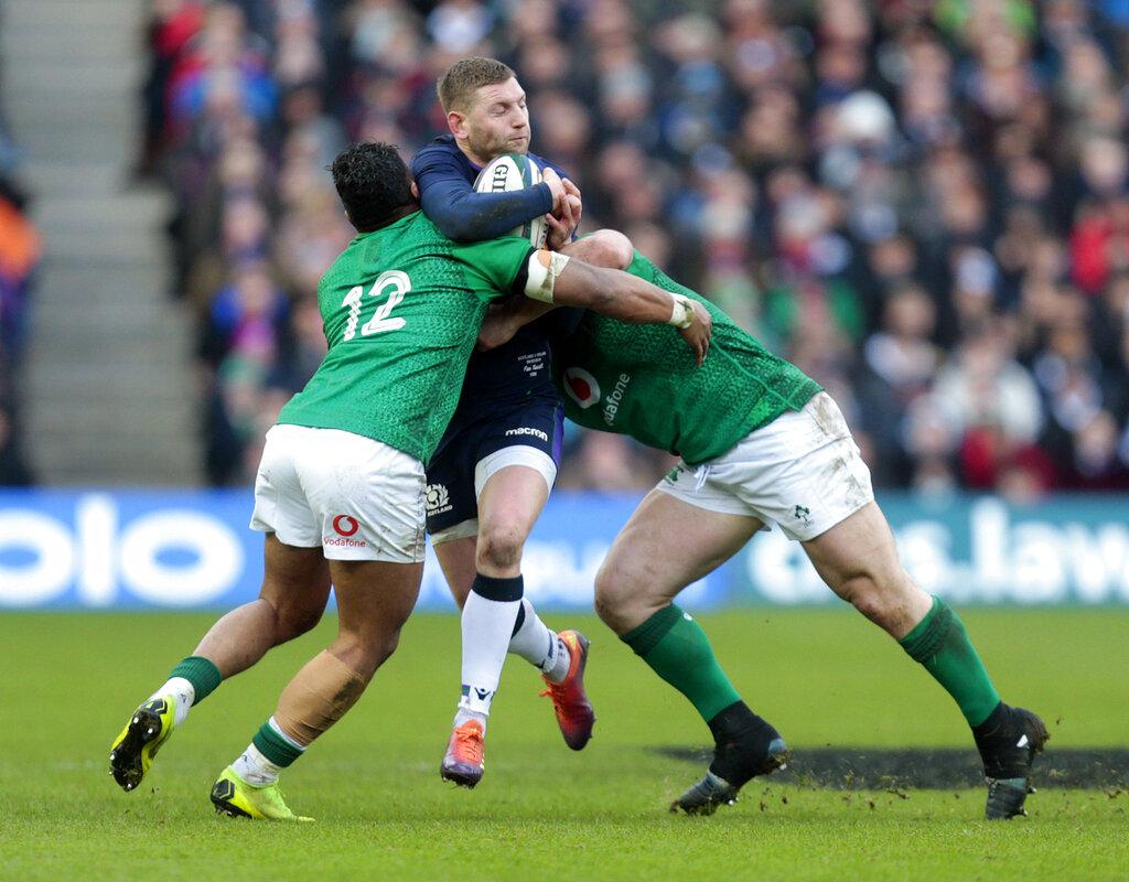 6N: Ireland rebounds to beat Scotland 22-13 at Murrayfield