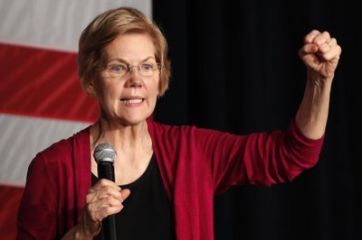 Warren makes presidential bid official with call for change