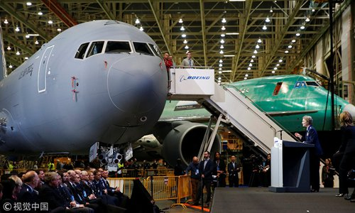 Boeing delivers first KC-46 tanker to US Air Force Altus Base in Oklahoma