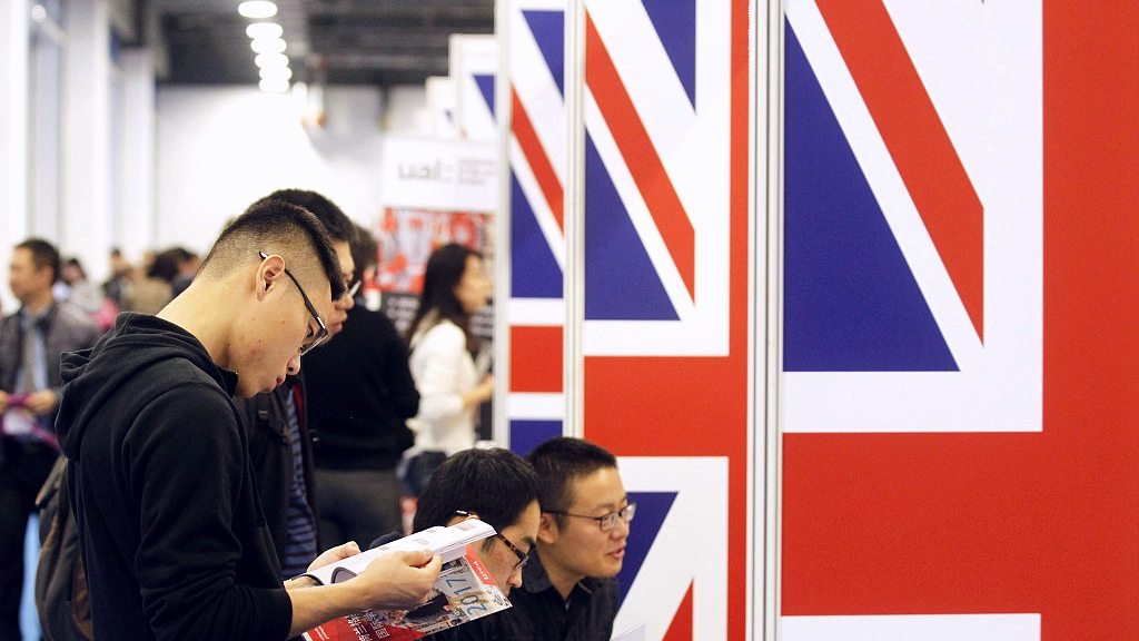 Number of applicants from Chinese mainland to British universities increases significantly