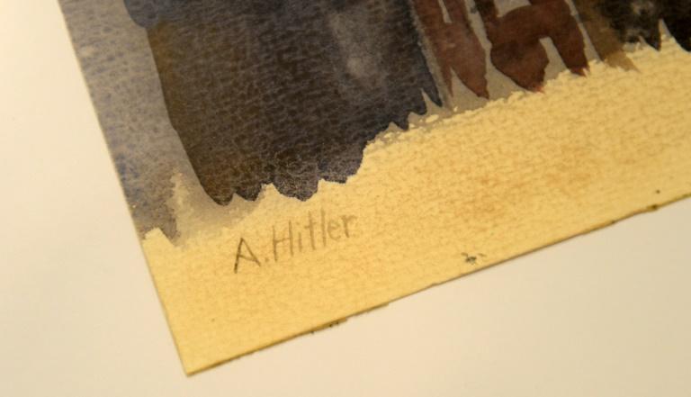 Five 'Hitler' paintings to go under hammer in Nuremberg