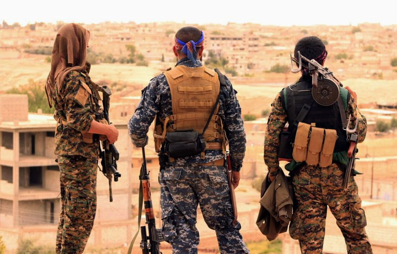 US-backed Kurdish forces launch final attacks against IS in eastern Syria