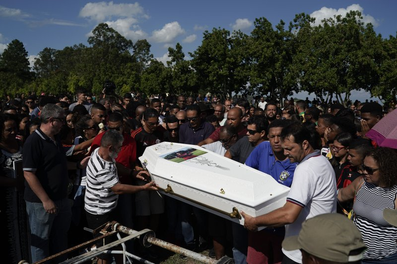 Questions, criticism of Brazil soccer club where 10 killed