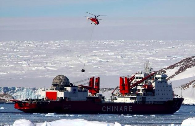 Chinese researchers in Antarctica arrive at Zhongshan Station