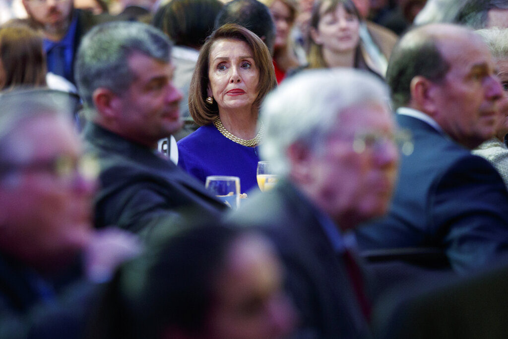 Pelosi shows pragmatic streak in pursuit of border deal