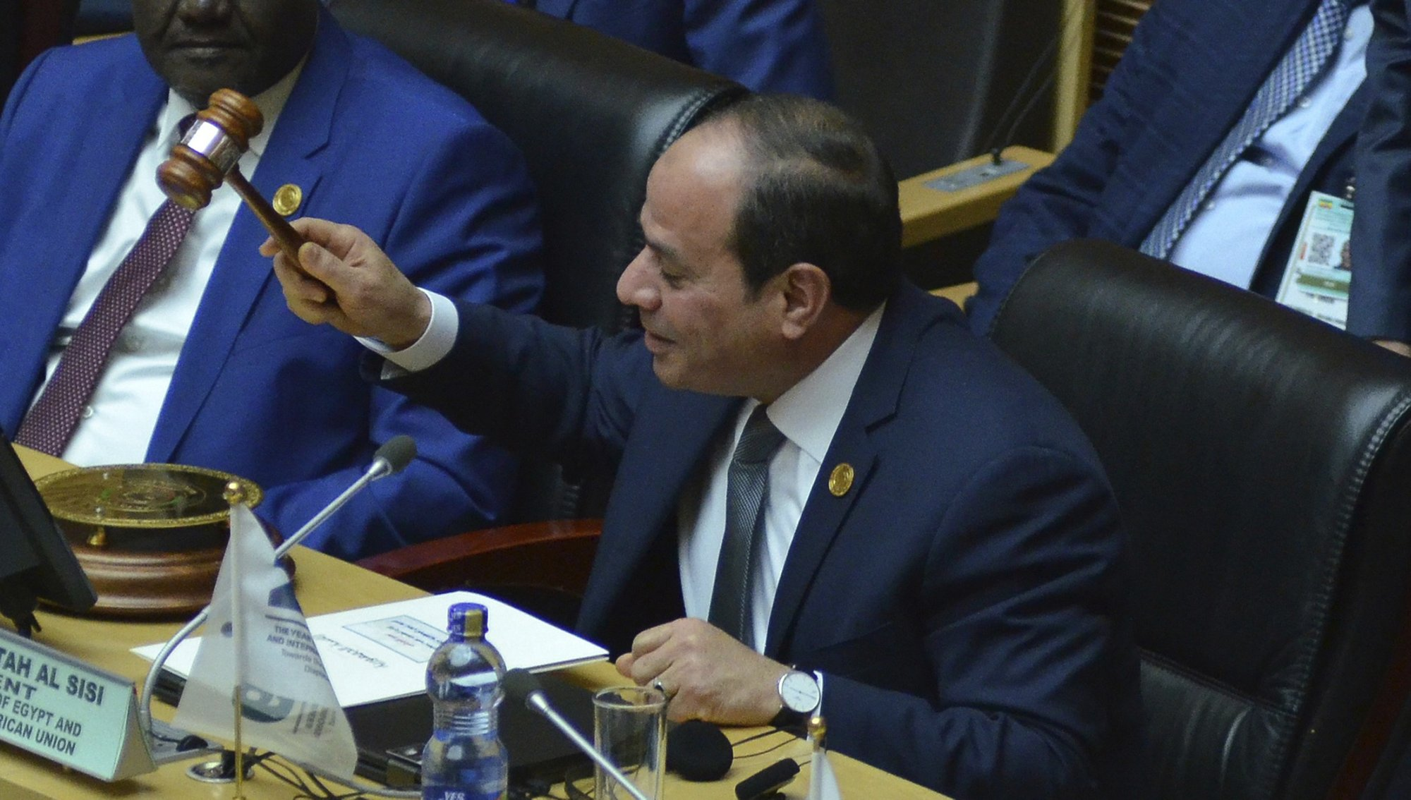 Egypt's el- Sisi elected new chairman of African Union