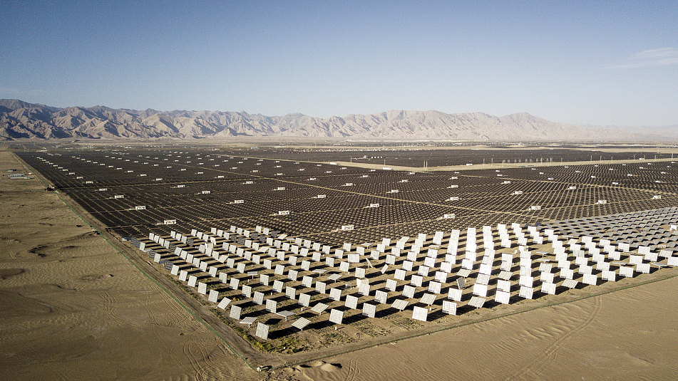 Clean energy powers Northwest China province