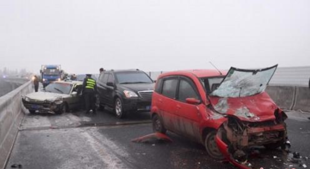 Two killed, over 50 injured in SW China expressway accidents