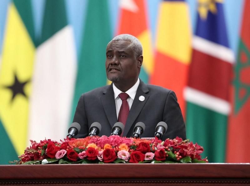 AU Commission chief extolls AU-China partnership at AU summit