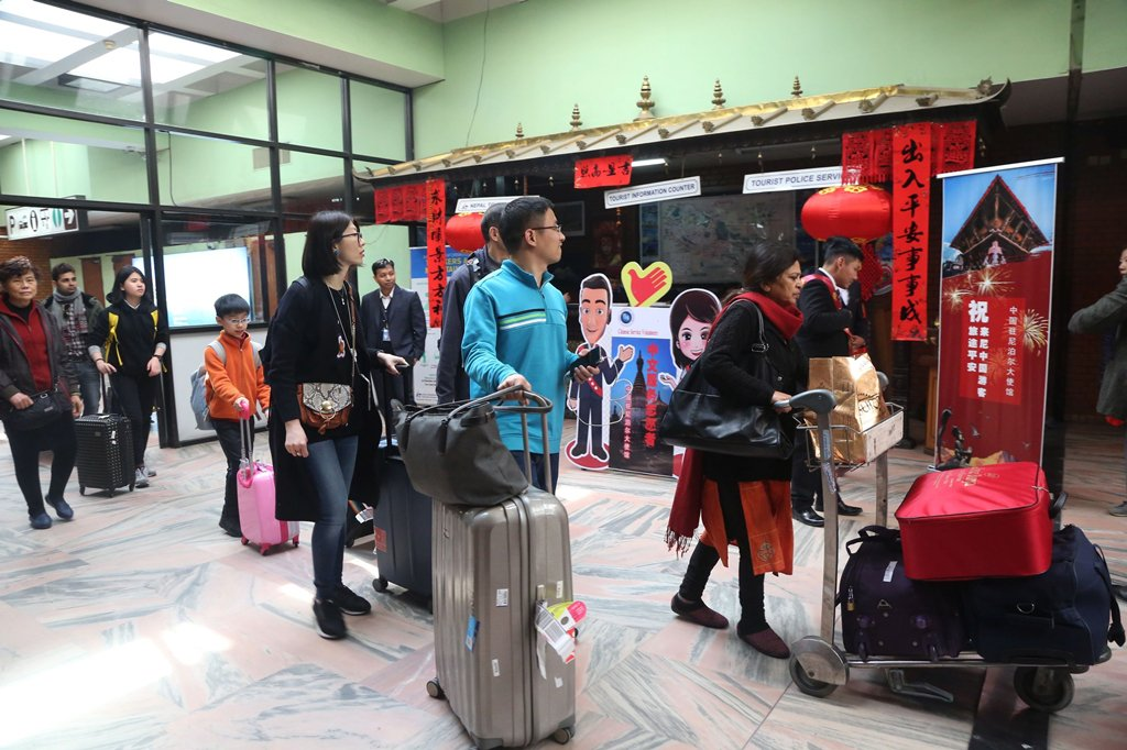 Nepal sees surge in Chinese tourists during Lunar New Year