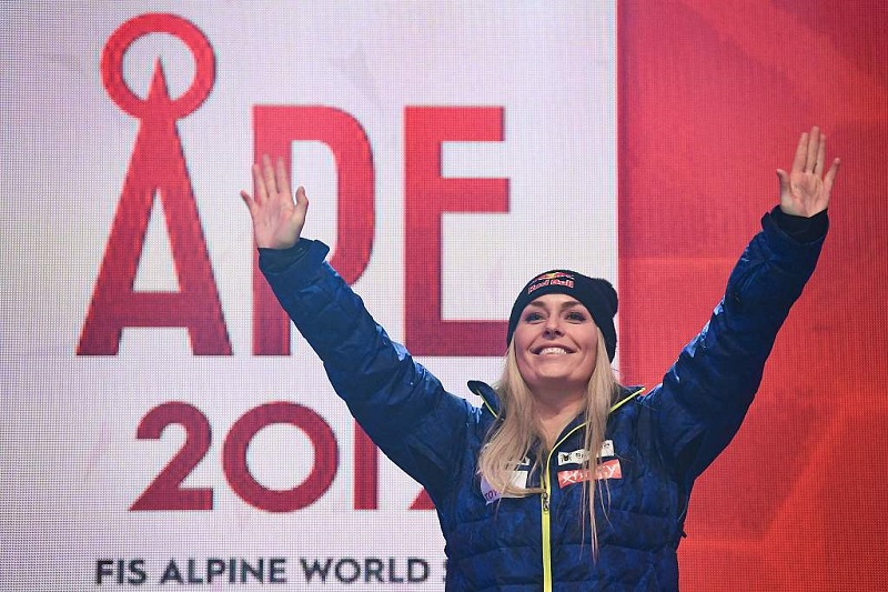 A perfect day and a perfect goodbye for Vonn