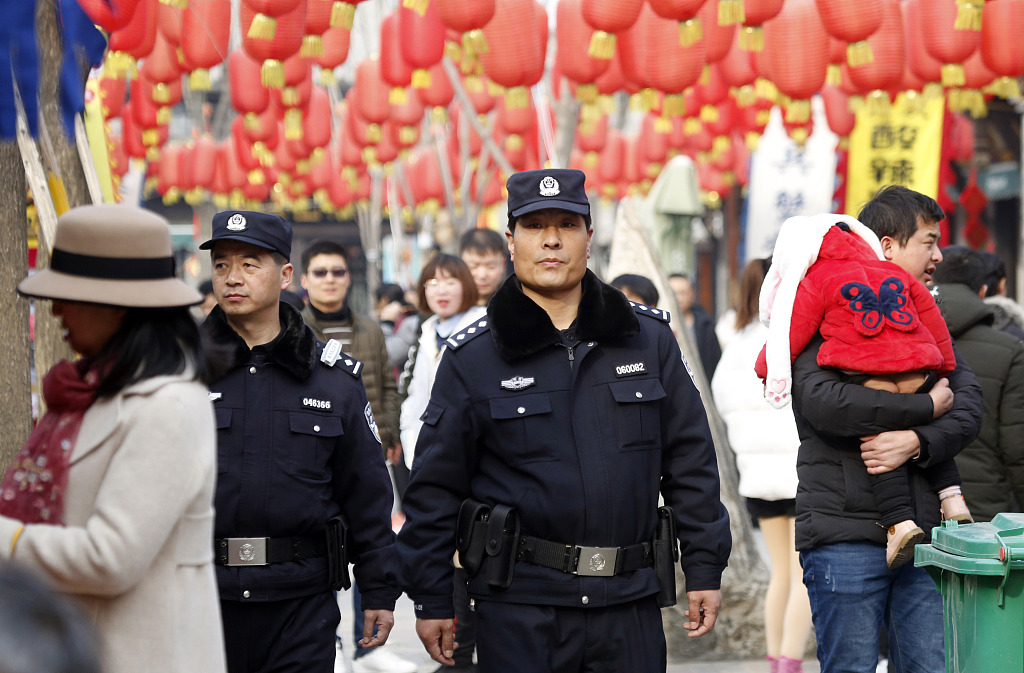 China sees safer Spring Festival holiday in 2019