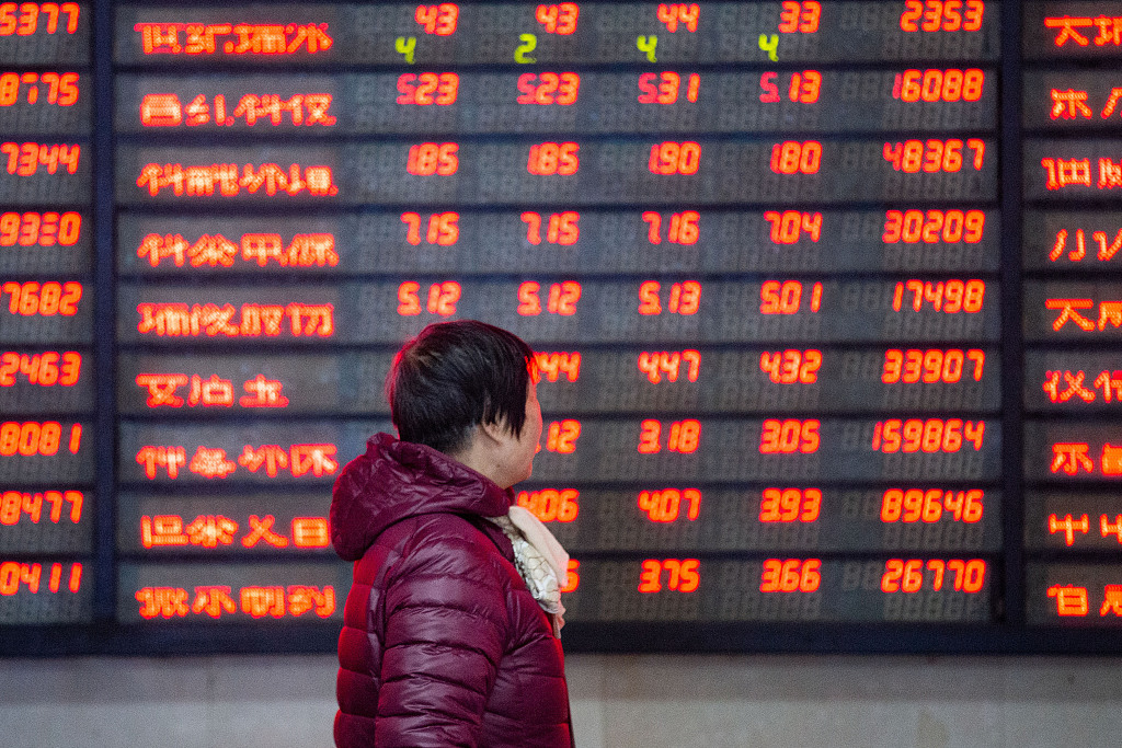 Chinese shares jump on 1st trading day of Year of Pig