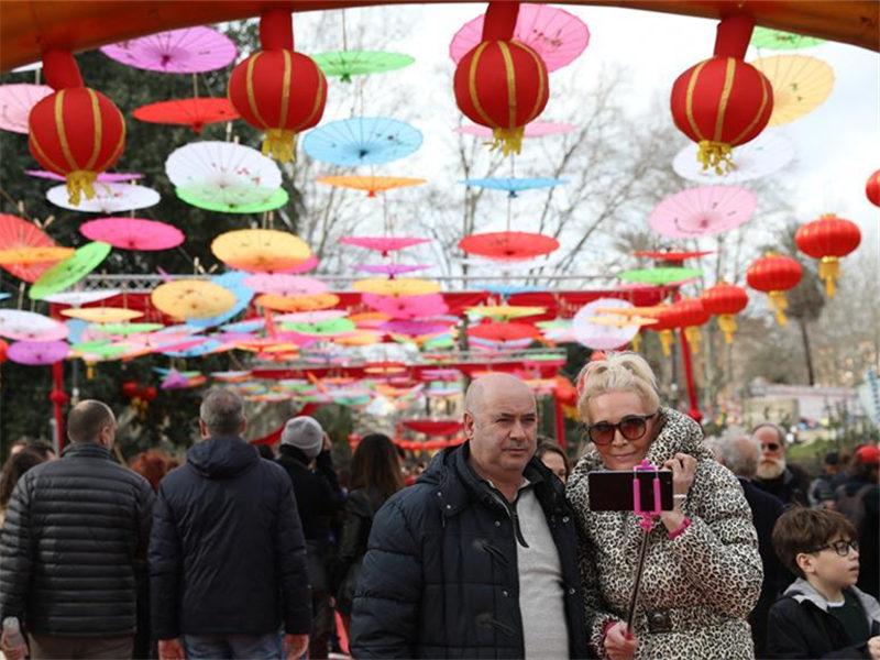 2019 Spring Festival parade held in Rome, Italy