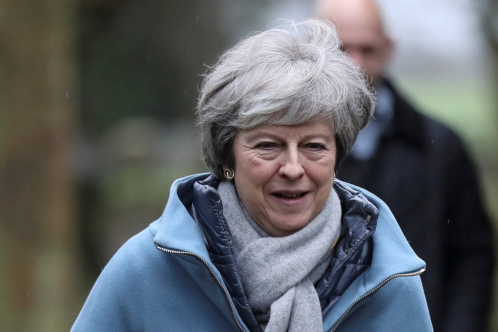 UK's May seeks compromise with Labour in EU divorce deal