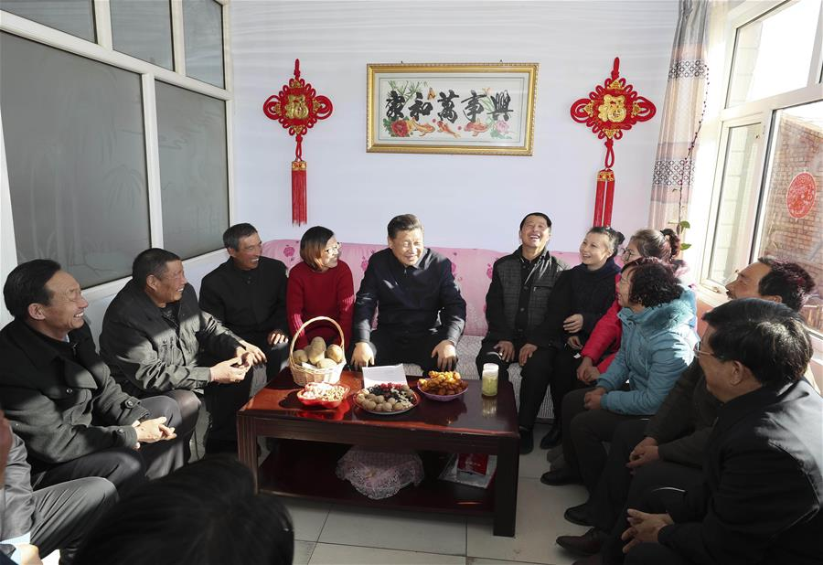 Party branch uses mini-tubers to lead Desheng village in North China's Hebei to prosperity