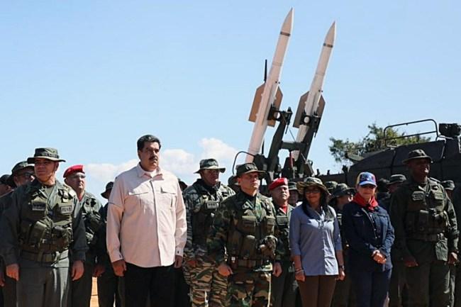 Maduro leads Venezuela's largest military exercises in history