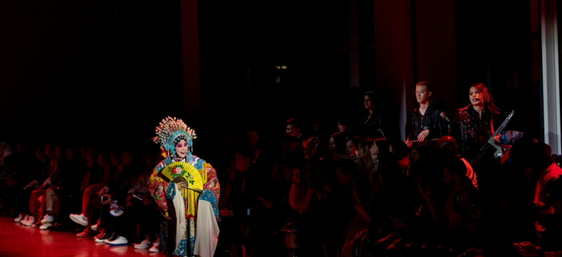 Popular beer brand showcases Chinese culture at New York fashion week