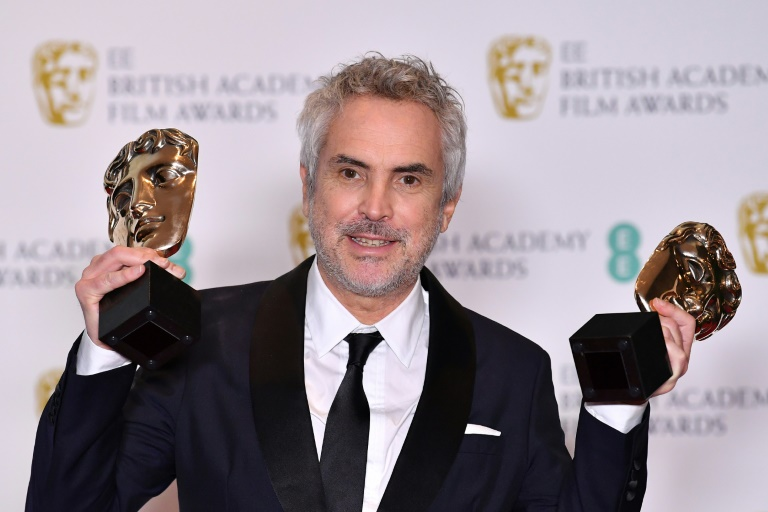 'Roma' takes Bafta glory in coup for Netflix