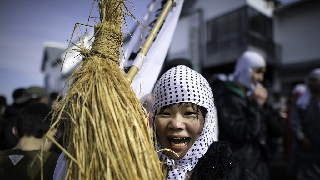 UNESCO-listed Kasedori Festival held in Japan to pray for good harvest