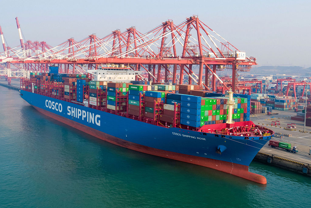 Now in China! World's first 5G-operated port