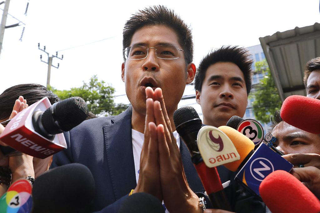 Thai party leader contrite after rebuke for princess' PM candidacy