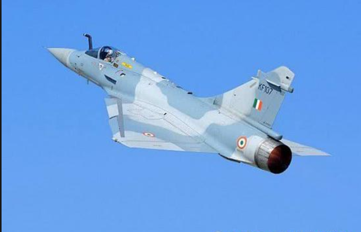 Fighter jet crashes in India, pilot ejects to safety