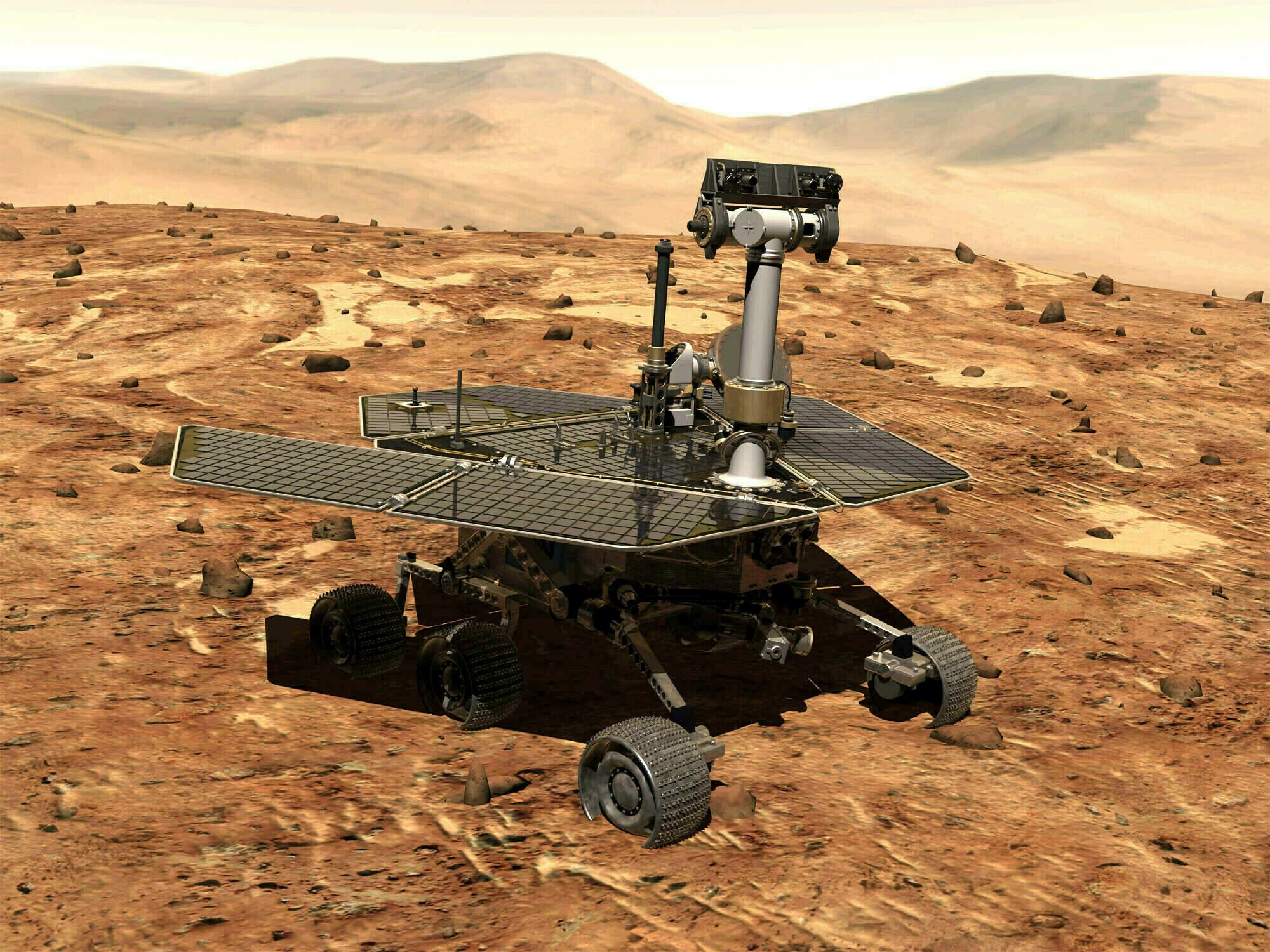 NASA about to pull plug on Mars rover, silent for 8 months