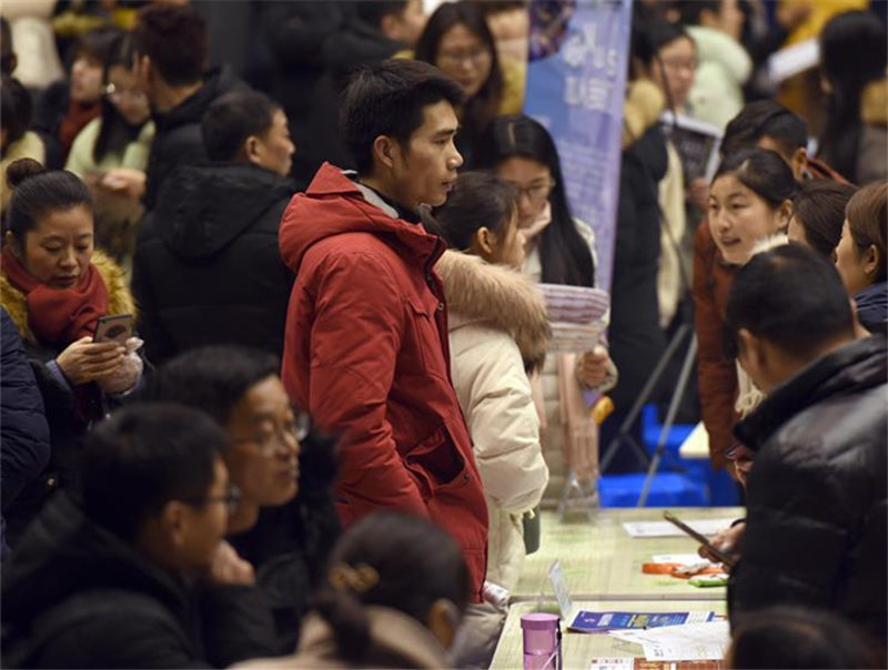 Job fairs held in multiple cities after Spring Festival holiday
