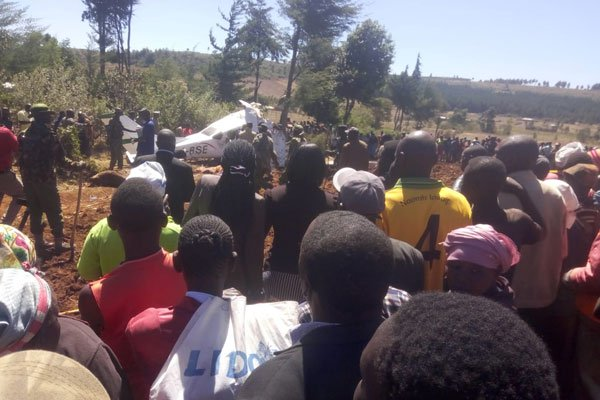 5 foreigners killed as light plane crashed in northwest Kenya