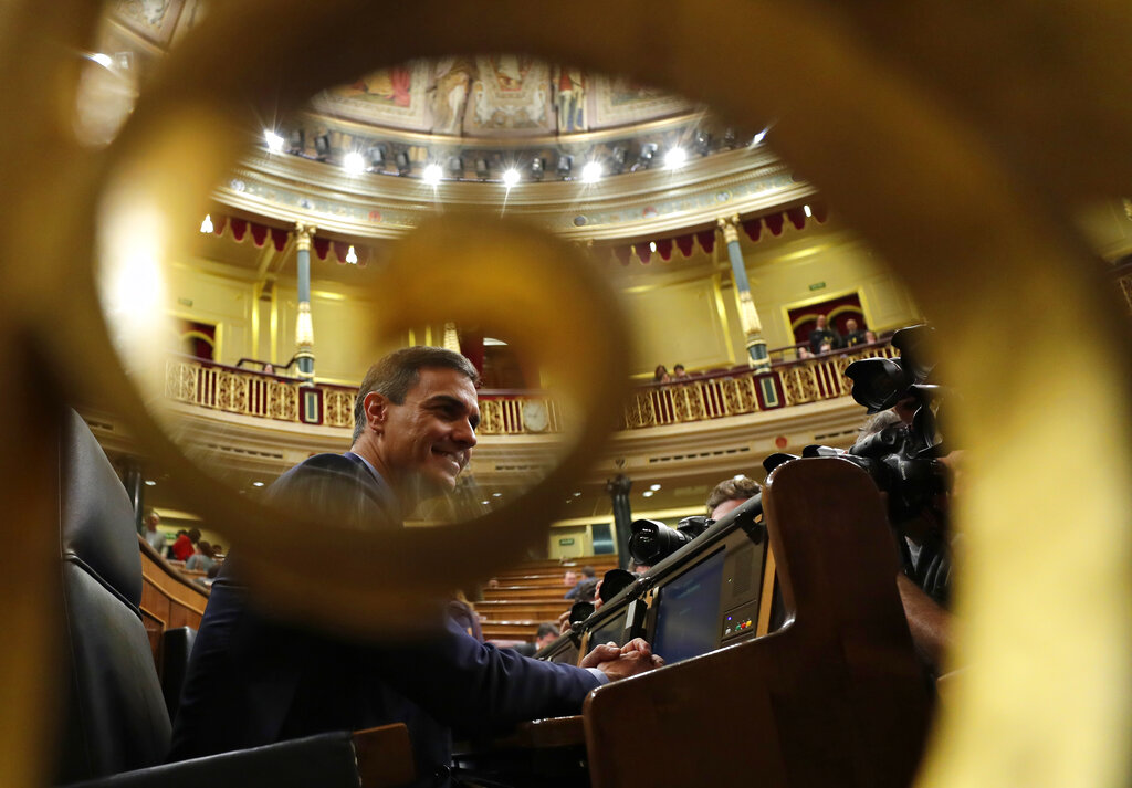 Budget defeat puts Spain's center-left government on ropes