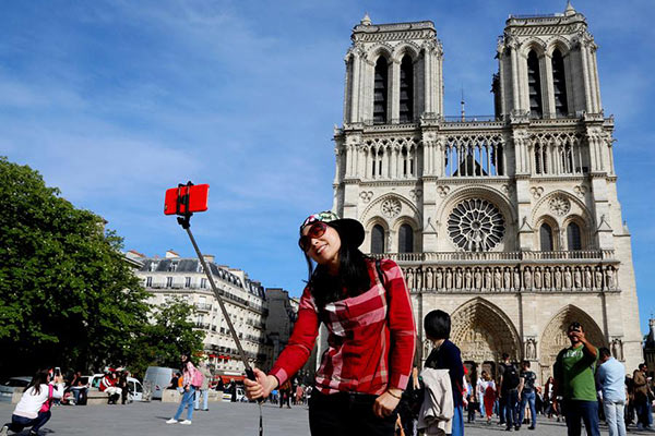 Chinese tourists make nearly 150 mln outbound trips in 2018
