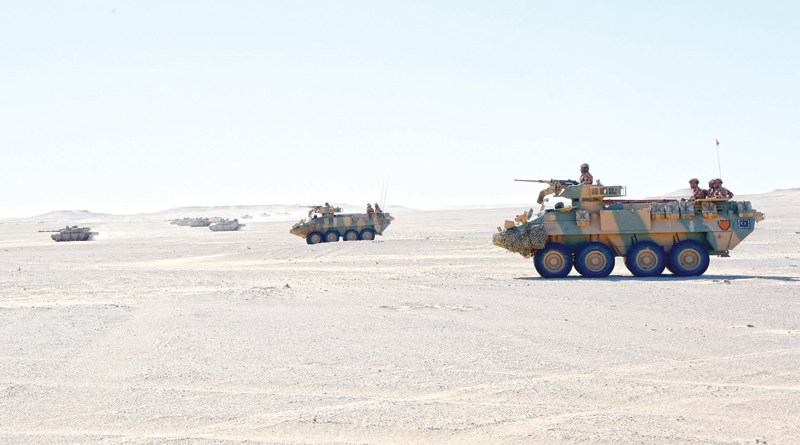UAE, Oman finish military exercise