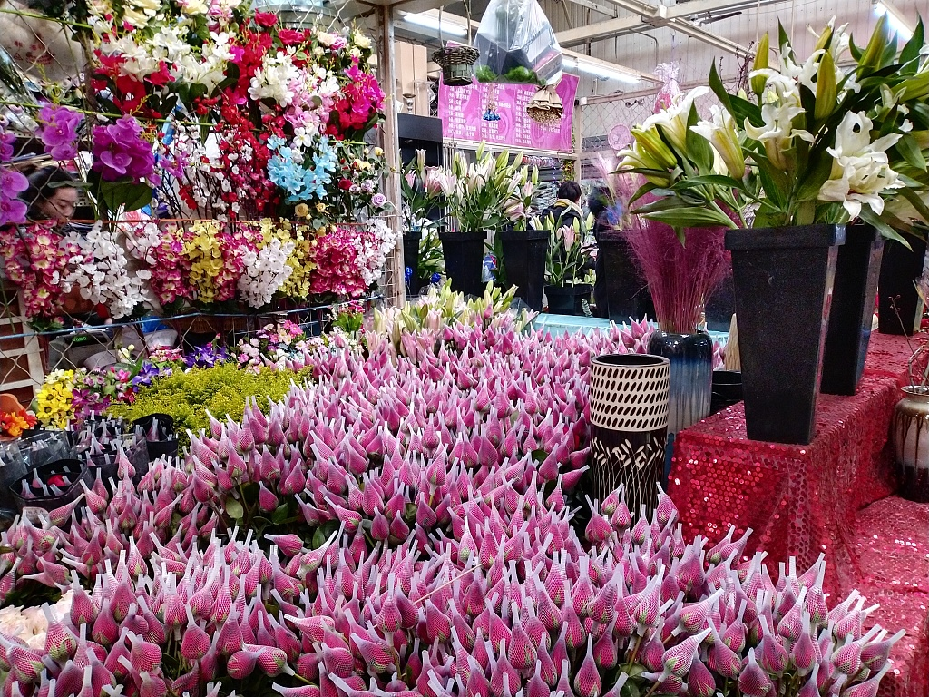 Flower sales blossom for Valentine's Day