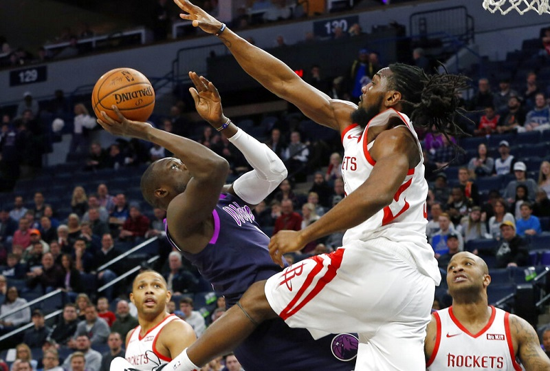 T-Wolves overcome Harden's 42 to top Houston 121-111