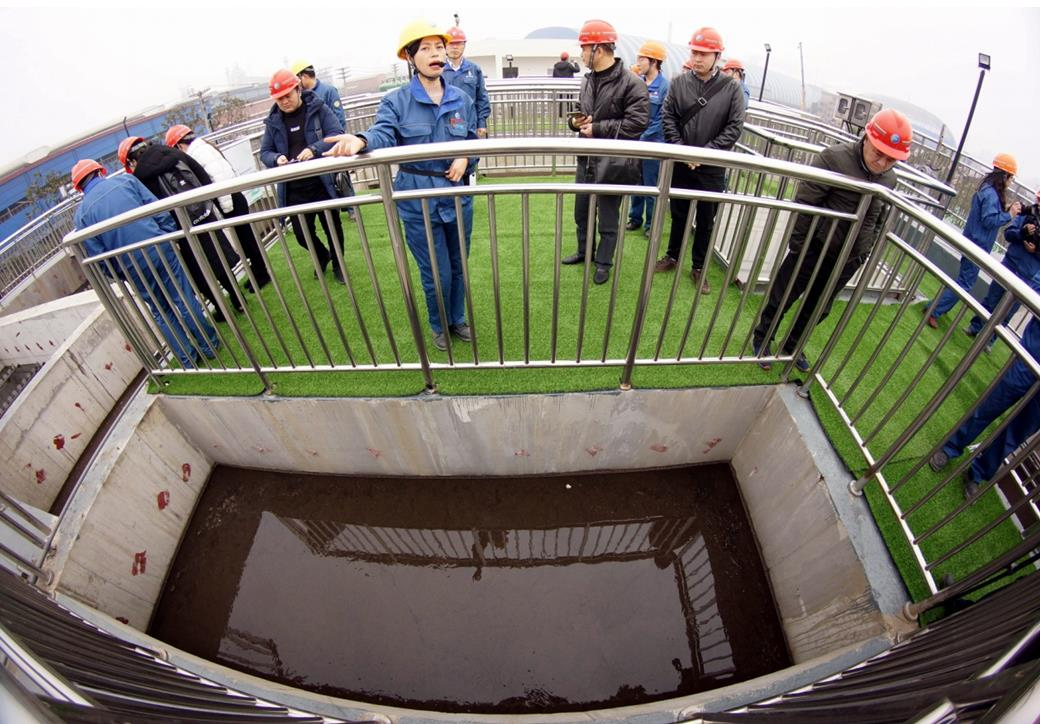 Steel company turns sewage into drinking water