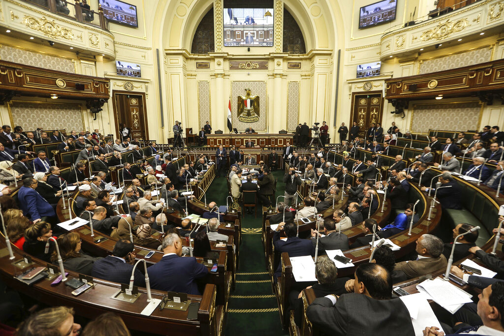 Egypt lawmakers approve extending president's term limits