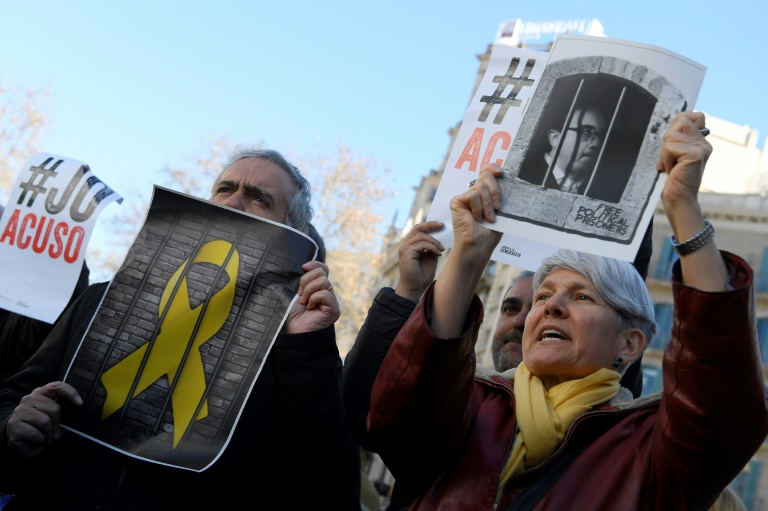 Catalan separatist defends 'peaceful' independence movement at trial