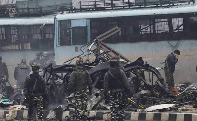 Jaish terrorist attacks CRPF convoy, 42 dead