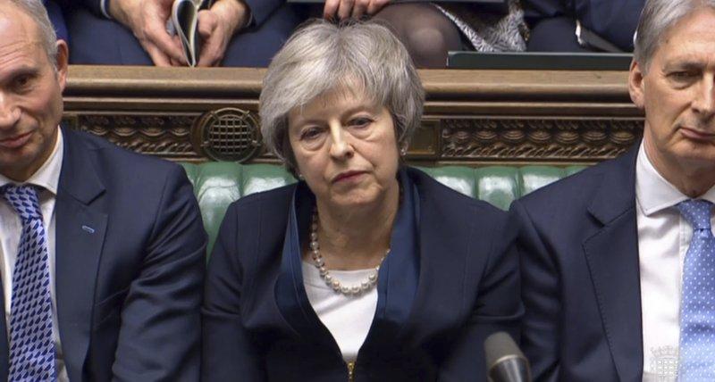 UK parliament votes against PM's Brexit motion
